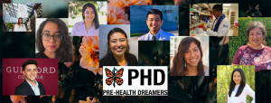 Collage of faces and PreHealth Dreamers logo
